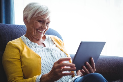 Senior Woman with Tablet Computer-copyright WavebreakmediaMicro/Fotolia.com