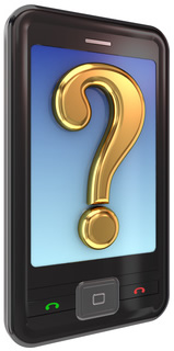 Smart Phone with Question Mark-copyright rukanoga/Fotolia.com