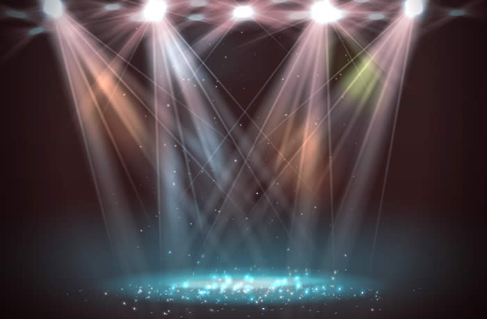 Stage and Spotlights-copyright lantica/Fotolia.com