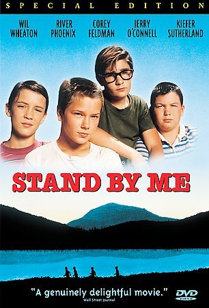 Stand by Me DVD Cover-copyrighted image