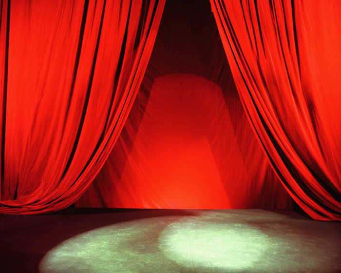 Theater Stage-Copyrighted Image