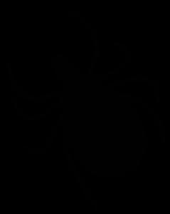 Tick Silhouette-Open Clip Art-Juhele