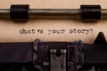 Typewriter-What's Your Story-copyright Sensay/Fotolia.com