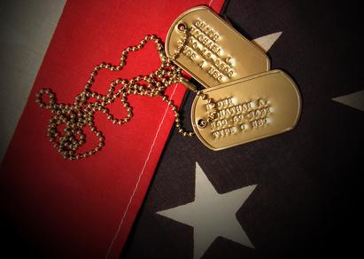 Vietnam War Tags-copyright Stephen Coburn/Fotolia.com