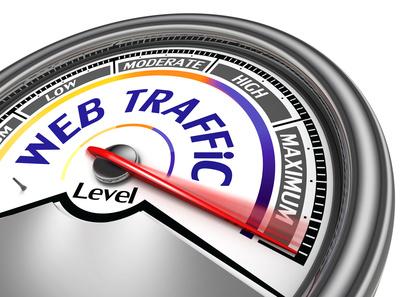 Web Traffic Gauge-Copyrighted Image