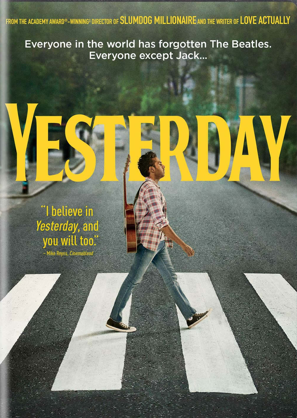 Yesterday DVD Cover-copyrighted image