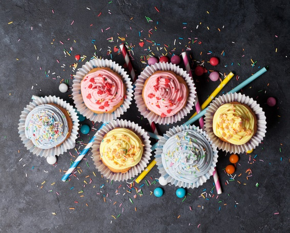Cupcakes Decorated-copyrighted image