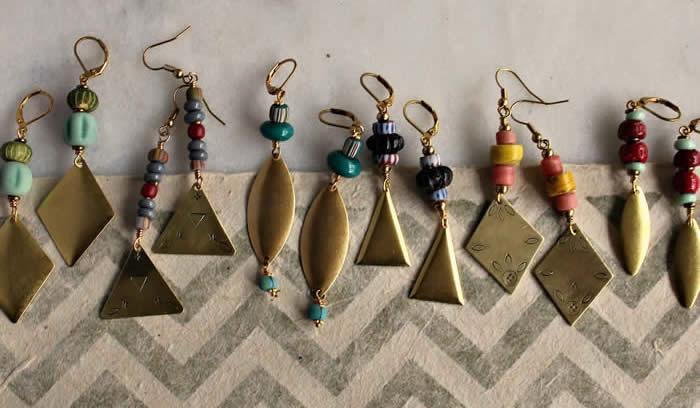 Earrings by Heather Torre