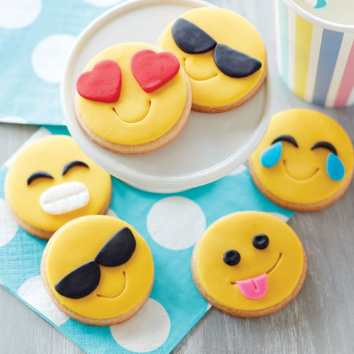 Emoji Cookies-courtesy of Icing on the Cake