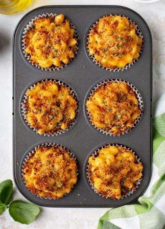 Mac & Cheese Muffins-copyrighted image