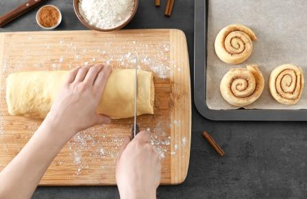 Making Cinnamon Rolls-copyrighted image