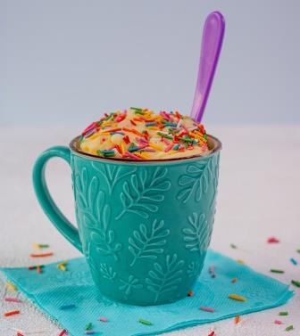 Mug Cake Sprinkles-copyrighted image