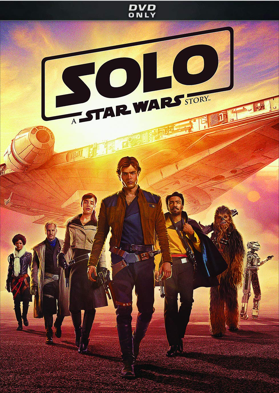 Solo: A Star Wars Story DVD Cover-Lucasfilm Ltd