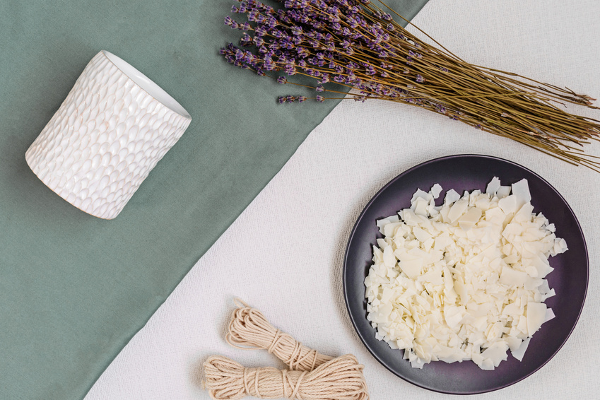Soy Candle Making Ingredients-copyrighted image