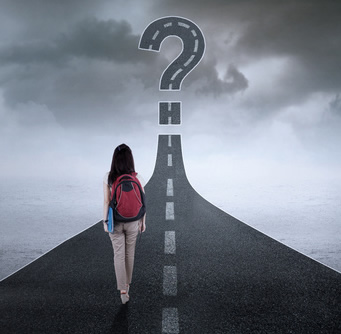 Teen on Decision Highway-copyright Creative Images/Fotolia.com