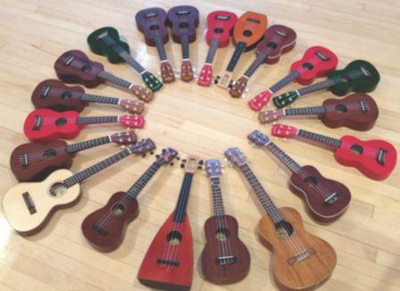 Ukuleles-courtesy of presenter